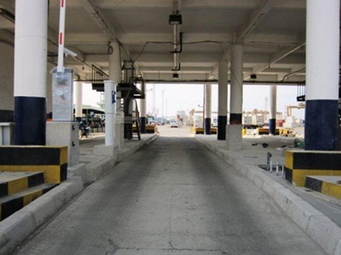 Automatic Gate Jakarta International Container Terminal (JICT)
