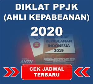 Jadwal Diklat PPJK (Ahli Kepabeanan) 2020 di Jakarta, Bandung, Semarang