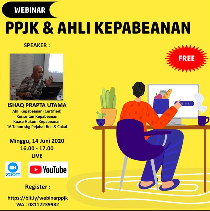 Mini Webinar PPJK dan Ahli Kepabeanan Juni 2020